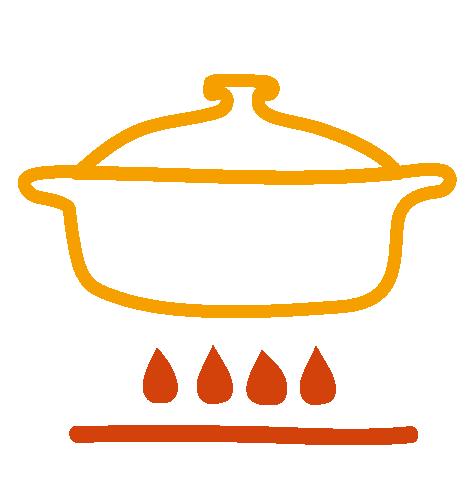 Ecocotte® sur le feu