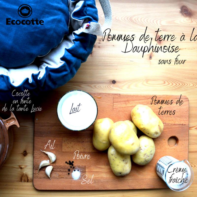 recette gratin dauphinois sans four