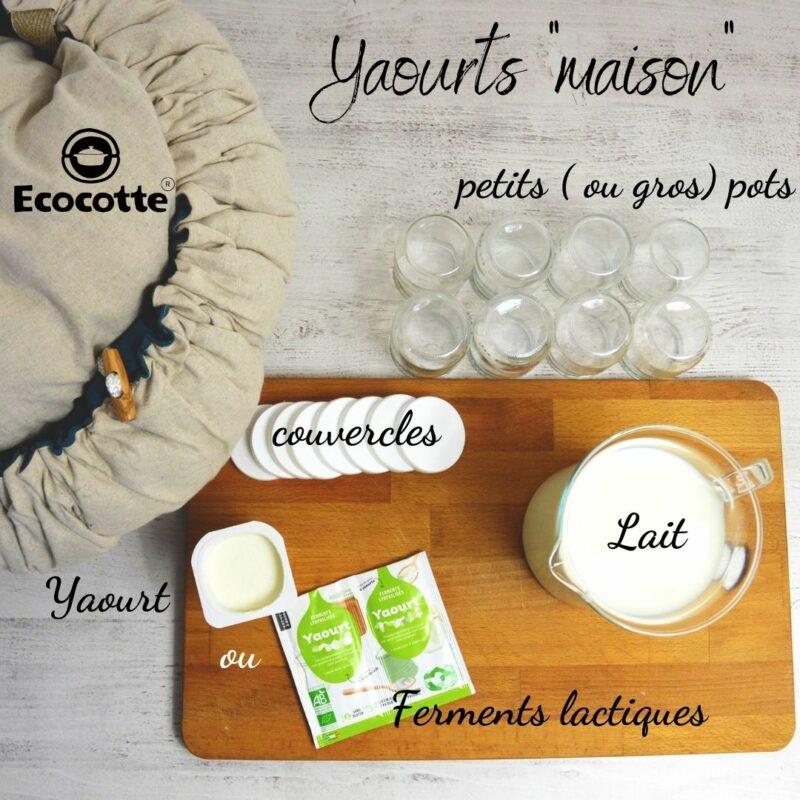 recette yaourt nature maison