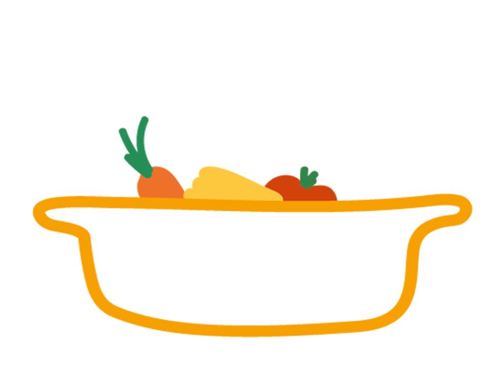 plat en cours de marinade pour préparation en cuisson lente